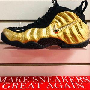 "Air Nike Foamposite Pro ""Metallic Gold"""